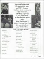 2002 Governor Mifflin High School Yearbook Page 248 & 249