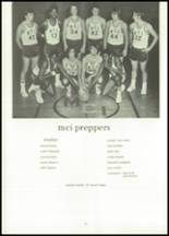 1973 Maine Central Institute Yearbook Page 92 & 93