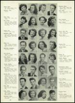 1950 Western International High School Yearbook Page 14 & 15