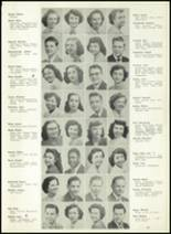 1950 Western International High School Yearbook Page 18 & 19