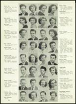 1950 Western International High School Yearbook Page 20 & 21