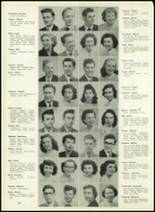 1950 Western International High School Yearbook Page 22 & 23