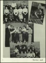 1950 Western International High School Yearbook Page 44 & 45