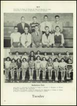 1950 Western International High School Yearbook Page 50 & 51