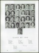 1944 Wadsworth High School Yearbook Page 42 & 43