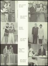 1969 Monticello High School Yearbook Page 16 & 17