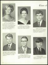 1969 Monticello High School Yearbook Page 20 & 21