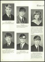 1969 Monticello High School Yearbook Page 22 & 23
