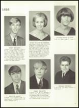 1969 Monticello High School Yearbook Page 24 & 25
