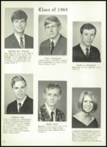 1969 Monticello High School Yearbook Page 26 & 27