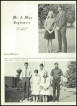 1969 Monticello High School Yearbook Page 30 & 31