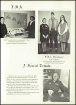 1969 Monticello High School Yearbook Page 54 & 55