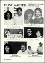 1986 Winfield High School Yearbook Page 30 & 31