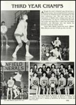 1986 Winfield High School Yearbook Page 110 & 111