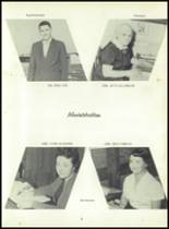 1958 Sand Creek High School Yearbook Page 10 & 11