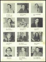 1958 Sand Creek High School Yearbook Page 12 & 13