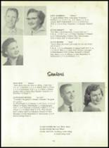 1958 Sand Creek High School Yearbook Page 20 & 21