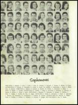 1958 Sand Creek High School Yearbook Page 28 & 29