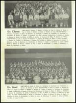 1958 Sand Creek High School Yearbook Page 34 & 35