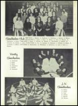 1958 Sand Creek High School Yearbook Page 36 & 37