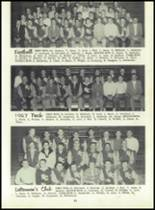 1958 Sand Creek High School Yearbook Page 40 & 41