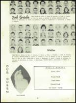 1958 Sand Creek High School Yearbook Page 52 & 53