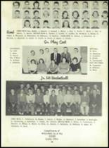 1958 Sand Creek High School Yearbook Page 56 & 57