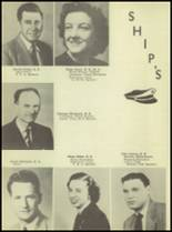 1950 Waterloo High School Yearbook Page 14 & 15