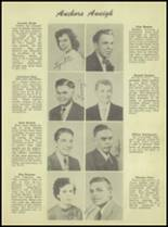 1950 Waterloo High School Yearbook Page 16 & 17