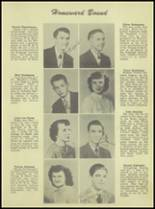 1950 Waterloo High School Yearbook Page 20 & 21