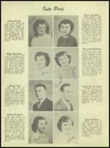 1950 Waterloo High School Yearbook Page 22 & 23