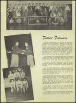 1950 Waterloo High School Yearbook Page 42 & 43