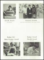 1967 Bowler High School Yearbook Page 42 & 43