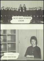 1961 Alto High School Yearbook Page 54 & 55