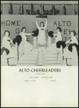 1961 Alto High School Yearbook Page 80 & 81