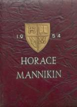 1954 Yearbook Horace Mann-Lincoln High School