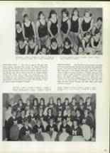 1965 Morton West High School Yearbook Page 166 & 167