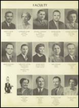 1952 Pittsburg High School Yearbook Page 20 & 21