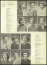 1952 Pittsburg High School Yearbook Page 24 & 25