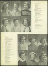1952 Pittsburg High School Yearbook Page 26 & 27