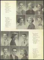 1952 Pittsburg High School Yearbook Page 28 & 29