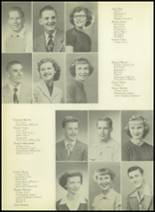1952 Pittsburg High School Yearbook Page 30 & 31