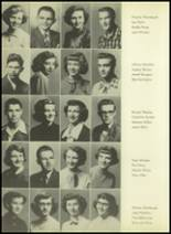 1952 Pittsburg High School Yearbook Page 40 & 41