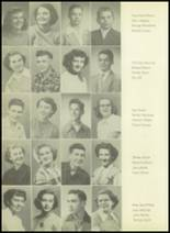 1952 Pittsburg High School Yearbook Page 42 & 43