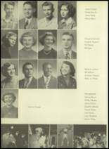 1952 Pittsburg High School Yearbook Page 44 & 45