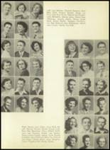 1952 Pittsburg High School Yearbook Page 48 & 49