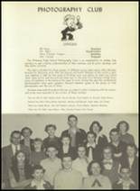 1952 Pittsburg High School Yearbook Page 66 & 67