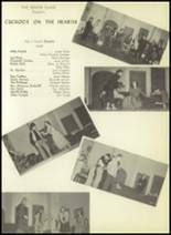 1952 Pittsburg High School Yearbook Page 74 & 75