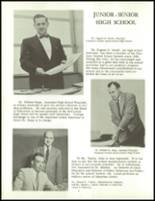 1958 Clarence High School Yearbook Page 14 & 15