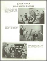 1958 Clarence High School Yearbook Page 16 & 17